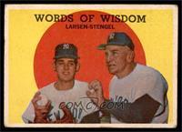 Words of Wisdom (Don Larsen, Casey Stengel) [GOOD]