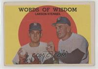 Words of Wisdom (Don Larsen, Casey Stengel) [Poor]