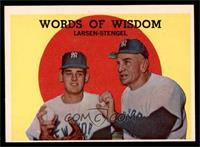 Words of Wisdom (Don Larsen, Casey Stengel) [EX]