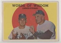 Words of Wisdom (Don Larsen, Casey Stengel) [GoodtoVG‑EX]