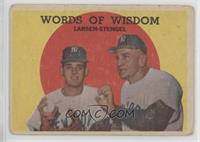 Words of Wisdom (Don Larsen, Casey Stengel) [NonePoortoFair]