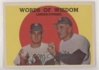 Words of Wisdom (Don Larsen, Casey Stengel)