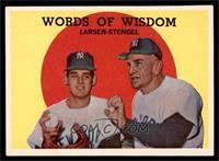 Words of Wisdom (Don Larsen, Casey Stengel) [EXMT]