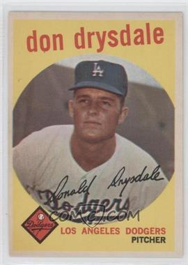 1959 Topps - [Base] #387 - Don Drysdale