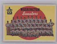 Washington Senators Team (6th Series Checklist) [NearMint]