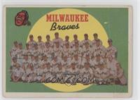 Milwaukee Braves Team [Poor]