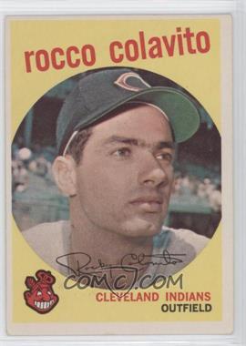 1959 Topps - [Base] #420 - Rocky Colavito
