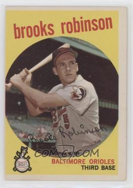 1959 Topps - [Base] #439 - Brooks Robinson