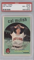Cal McLish [PSA8NM‑MT(OC)]