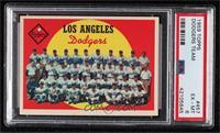 Los Angeles Dodgers Team (6th Series Checklist) [PSA6EX‑MT]