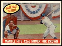 Mantle Hits 42nd Homer for Crown (Mickey Mantle) [NM]