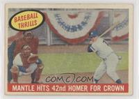 Mantle Hits 42nd Homer for Crown (Mickey Mantle) [NonePoortoF…