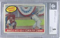 Mantle Hits 42nd Homer for Crown (Mickey Mantle) [BGS5]