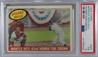 Mantle Hits 42nd Homer for Crown (Mickey Mantle) [PSA 5 EX]