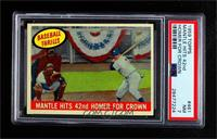 Mantle Hits 42nd Homer for Crown (Mickey Mantle) [PSA7NM]