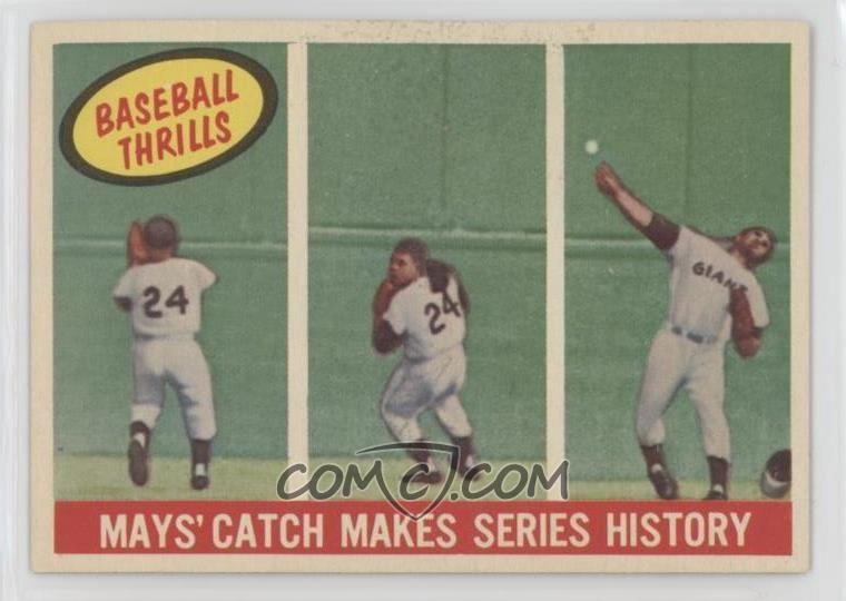Rich Reminisces Willie Mays Comc Blog