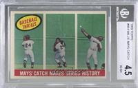 Willie Mays [BGS 4.5 VG‑EX+]