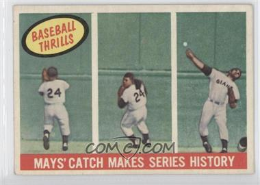 1959 Topps - [Base] #464 - Willie Mays [Good to VG‑EX]