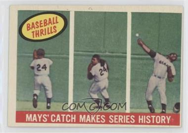 1959 Topps - [Base] #464 - Willie Mays