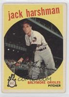 Jack Harshman [Good to VG‑EX]