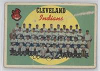 Cleveland Indians Team (7th Series Checklist) [Poor]