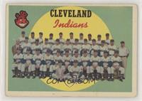 Cleveland Indians Team (7th Series Checklist) [Good to VG‑EX]