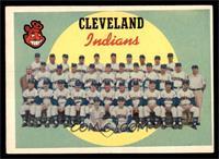Cleveland Indians Team (7th Series Checklist) [EX]