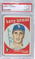 Barry Latman [PSA 6 EX‑MT (ST)]