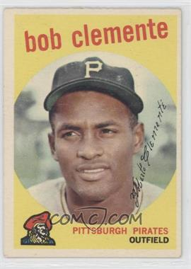 1959 Topps - [Base] #478 - Roberto Clemente