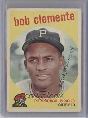 1959 Topps - [Base] #478 - Roberto Clemente [Good to VG‑EX]
