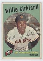 Willie Kirkland [GoodtoVG‑EX]