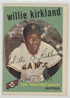 Willie Kirkland