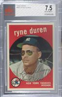 Ryne Duren [BGS 7.5 NEAR MINT+]