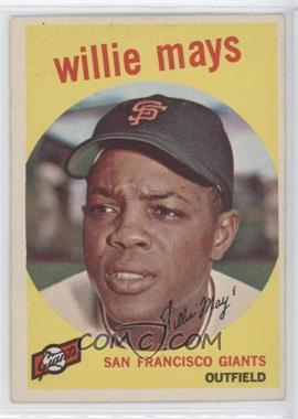 1959 Topps - [Base] #50 - Willie Mays
