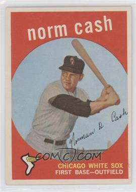 1959 Topps - [Base] #509 - Norm Cash [Good to VG‑EX]