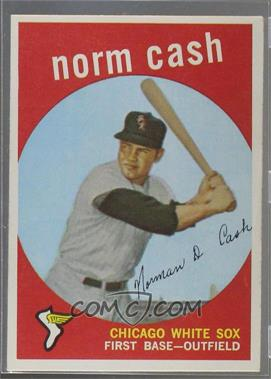 1959 Topps - [Base] #509 - Norm Cash [GoodtoVG‑EX]