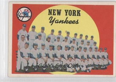 1959 Topps - [Base] #510 - New York Yankees