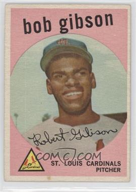 1959 Topps - [Base] #514 - Bob Gibson [Good to VG‑EX]
