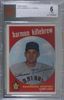 High # - Harmon Killebrew [BVG 6 EX‑MT]
