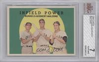 Infield Power (Pete Runnels, Dick Gernert, Frank Malzone) [BVG 7]