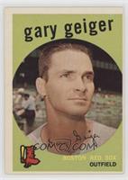 High # - Gary Geiger