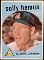 Solly Hemus [EX]