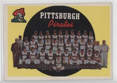 1959 Topps - [Base] #528 - Pittsburgh Pirates Team [Good to VG‑EX]