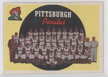 1959 Topps - [Base] #528 - Pittsburgh Pirates Team