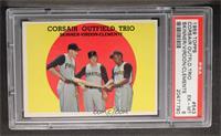 Corsair Outfield Trio (Bob Skinner, Bill Virdon, Roberto Clemente) [PSA6]