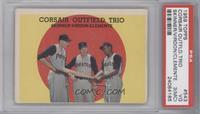 Corsair Outfield Trio (Bob Skinner, Bill Virdon, Roberto Clemente) [PSA3&…
