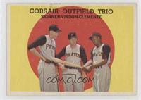 High # - Corsair Outfield Trio (Bob Skinner, Bill Virdon, Roberto Clemente)