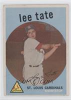 High # - Lee Tate
