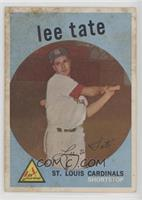 Lee Tate [Good to VG‑EX]
