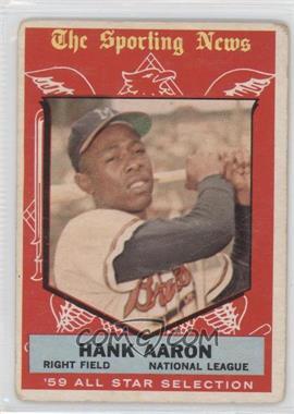 1959 Topps - [Base] #561 - Hank Aaron [GoodtoVG‑EX]